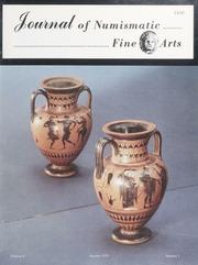 Journal of Numismatic Fine Arts: Vol. 4 No. 2