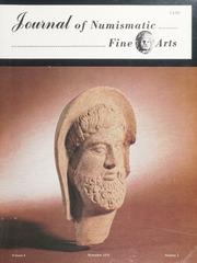 Journal of Numismatic Fine Arts: Vol. 4 No. 3