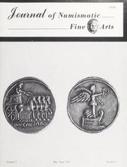 Journal of Numismatic Fine Arts: Vol. 5 No. 1