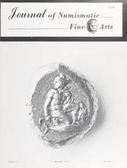 Journal of Numismatic Fine Arts: Vol. 5 No. 3