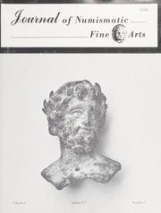 Journal of Numismatic Fine Arts: Vol. 6 No. 1