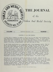 Journal of the Token and Medal Society, Vol. 3, No. 4
