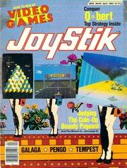 Joystik Magazine - September 1983 - Sinistar, Dig Dug, Food Fight arcade