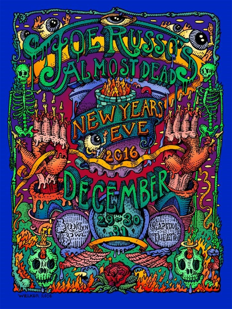 Joe Russo's Almost Dead Live at The Capitol Theatre on 2016