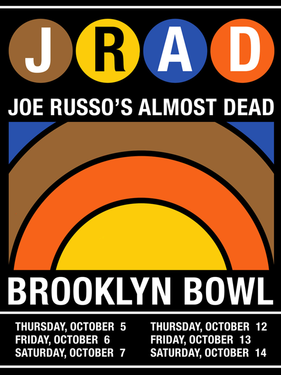 Joe Russo's Almost Dead Live at Brooklyn Bowl on 2017-10-13 : Free