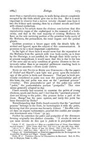 Vol 18: Zoölogy