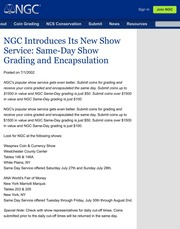 NGC Newsletter: July 2002