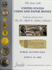 The June Sale of Ancient and Modern Coins and Medals of the World Featuring Selections From The Dr. Alfred R. Globus Collection, Part II