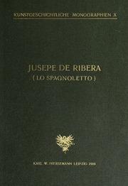 Jusepe de Ribera Lo Spagnoletto