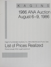 Kagin's 1986 A.N.A. Auction