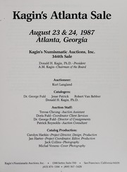 Kagin's 1987 Atlanta Sale