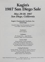 Kagin's 1987 San Diego Sale