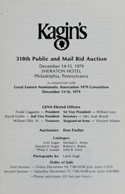 Kagin's 318th Sale: G.E.N.A. Sale