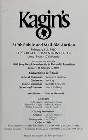 Kagin's 319th Sale: Long Beach Numismatic & Philatelic Expo.