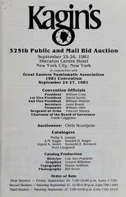 Kagin's 325th Sale: Great Eastern Numismatic Association