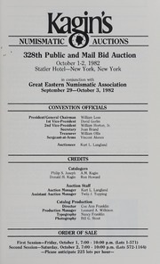 Kagin's 328th Sale: Great Eastern Numismatic Association