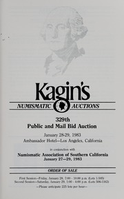 Kagin's 329th Sale: Numismatic Association of Southern California