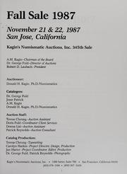 Kagin's 345th Sale: Fall Sale 1987
