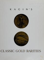Kagin's Classic Gold Rarities