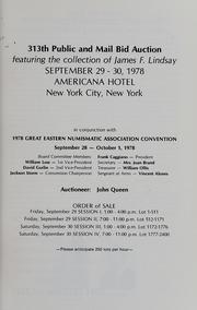 Kagin's G.E.N.A. New York City Public Auction Sale