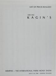 Kagin's Memphis: The International Paper Money Show