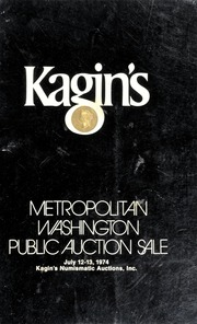 Kagin's Metropolitan Washington Public Auction Sale (pg. 29)