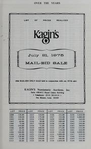 Kagin's M.W.N.A. 307th Sale