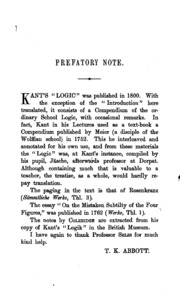 kant s introduction to logic and his essay on the mistaken  kant s introduction to logic and his essay on the mistaken subtilty of the four figures
