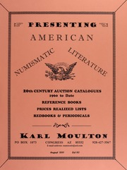 Karl Moulton, August 2001, List #3