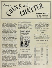 Kelly's Coins and Chatter [First Trial Issue]