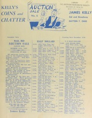 Kelly's coins and chatter : mail bid auction sale. [12/20/1952]