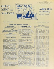 Kelly's coins and chatter : mail bid auction sale. [10/25/1952]
