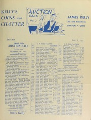 Kelly's coins and chatter : mail bid auction sale. [09/05/1952]