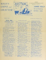 Kelly's coins and chatter. [02/16/1953]