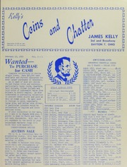 Kelly's Coins and Chatter, vol.3, no. 1