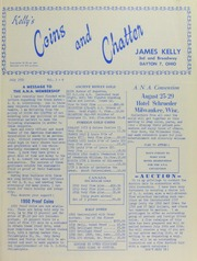 Kelly's Coins and Chatter, vol.3, no. 6