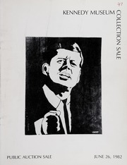 Kennedy Museum Collection Sale