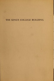 The     King's College buil...