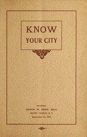 Know your city : message