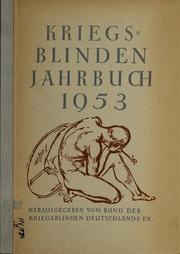 Vol 1953: Kriegsblinden-Jahrbuch