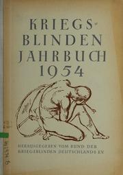 Vol 1954: Kriegsblinden-Jahrbuch