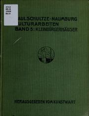 Vol bd.5: Kulturarbeiten