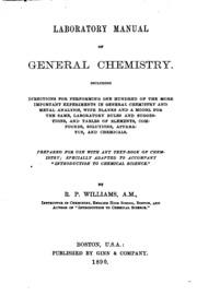 general chemistry lab manual pdf