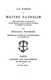 Histoire du pont neuf edouard fournier free download for Farcical traduction