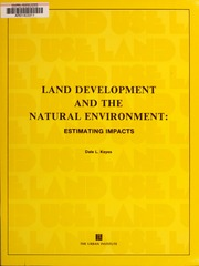 Land development and the na...