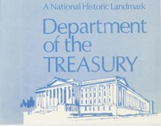 A National Historic Landmark: Department of the Treasury