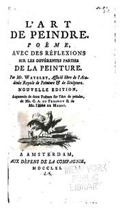 R flexions sur l 39 art des vers sully prudhomme free - Peindre sur de la peinture brillante ...