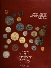 The Las Colinas sale, featuring coins from over 200 different consignors ... [09/12-13/1981]