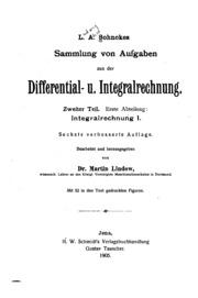 L. A. Sohncke-s Sammlung von Aufgaben aus der Differential- Und ...