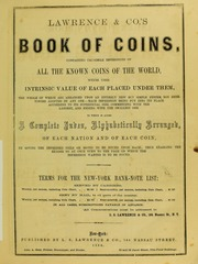 Lawrence & Co.'s Book of Coins